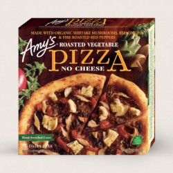 Amy's Roasted Vegetable No Cheese Pizza, 12oz
