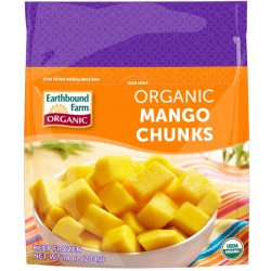 Earthbound Farm Frozen Mango Chunks, 10oz