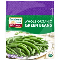 Earthbound Farm Frozen Whole Green Beans, 10oz