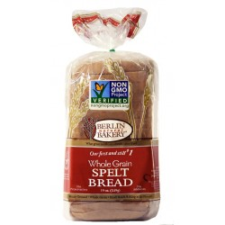 Berlin Natural Bakery Whole Grain Sprouted Spelt Bread, 19oz