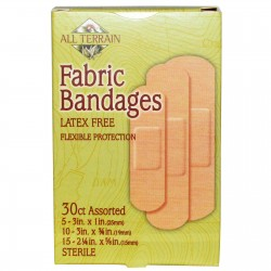 All Terrain Assorted Fabric Bandages, 30 count